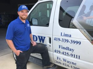 IDW Technician Danny Settlemire