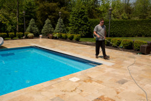 Exterior Cleaning Pool Deck